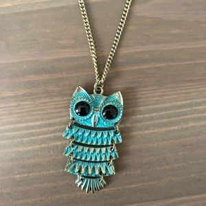 🦉▫️Topshop Owl Necklace ▫️🦉